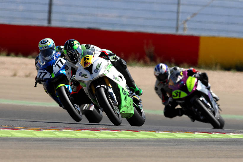 Return after the summer holidays of the S1000RR Cup in Motorland Aragón